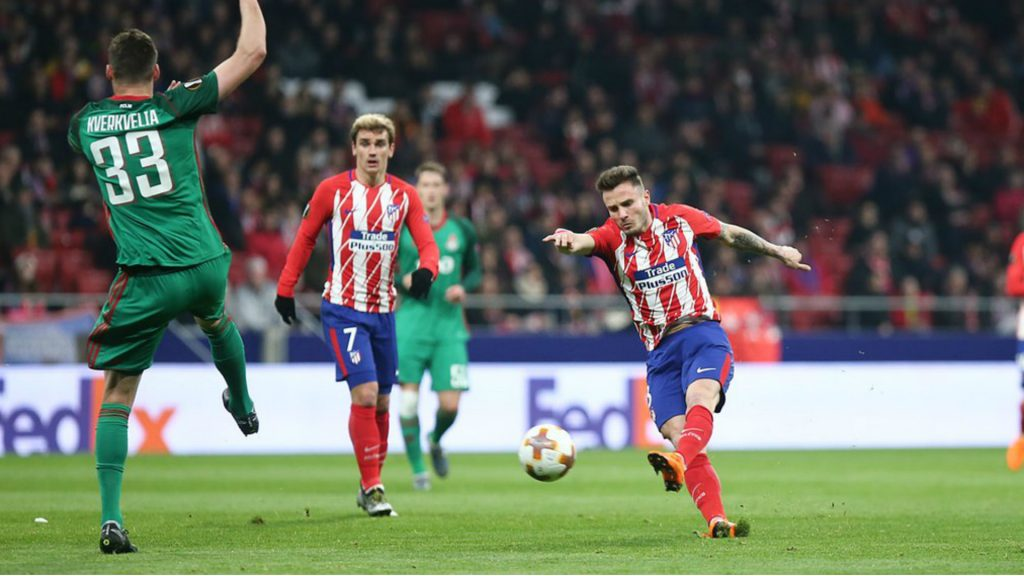 Image result for Lokomotiv Moscow vs Atletico Madrid