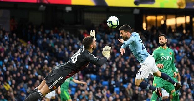 Man City 3-1 Watford: Hat trick của Sterling