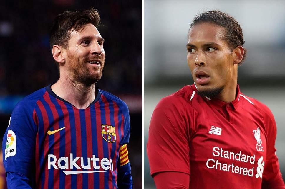 Van Dijk tự tin khóa chặt Messi ngay tại Camp Nou