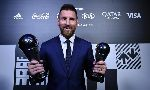 Lionel Messi giành giải FIFA The Best 2019