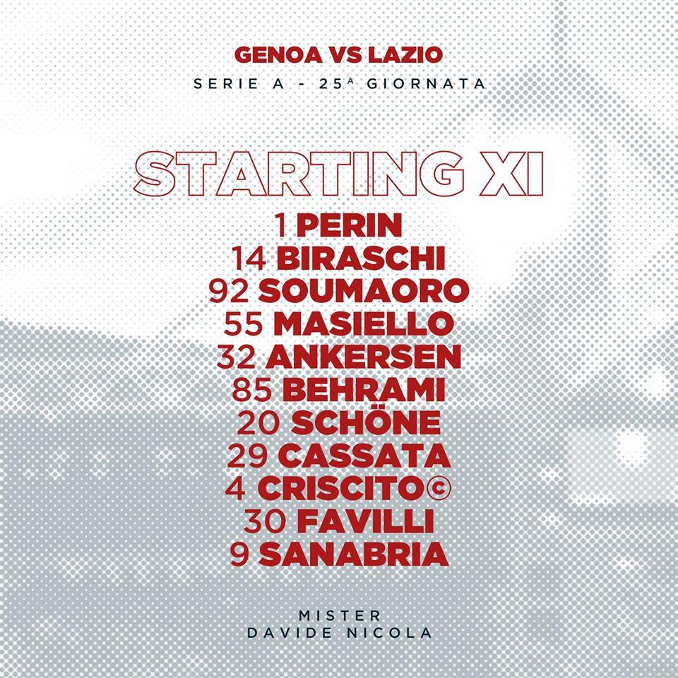 Genoa 2-3 Lazio: Nhọc nhằn vượt ải, tạm chiếm ngôi nhì